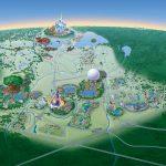 Map Of Walt Disney World Resort   Wdwinfo   Florida Map Hotels