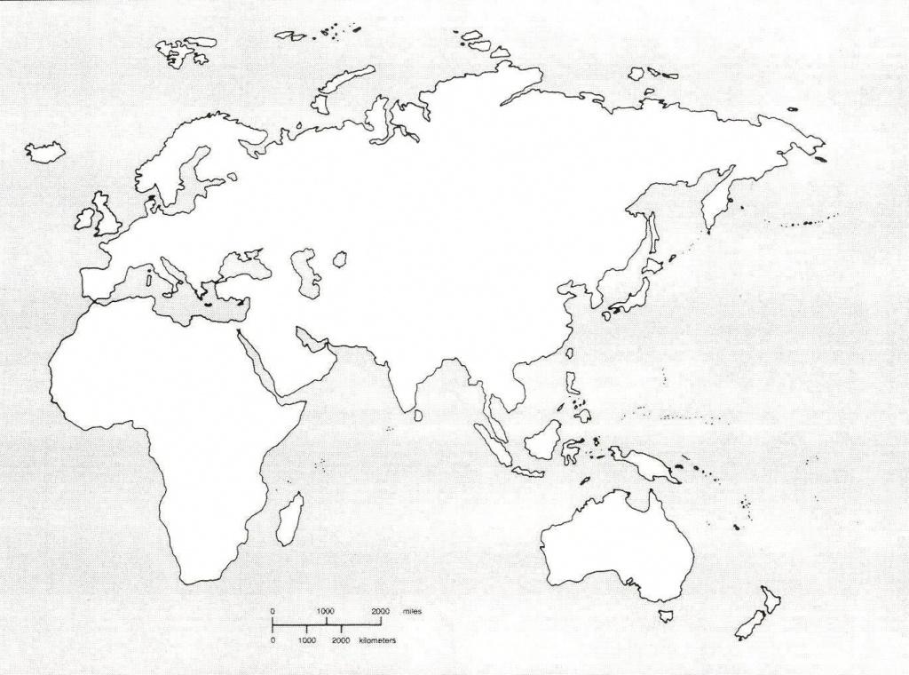 Map Of Western Hemisphere Blank The City Maps Printable Guvecurid - Eastern Hemisphere Map Printable