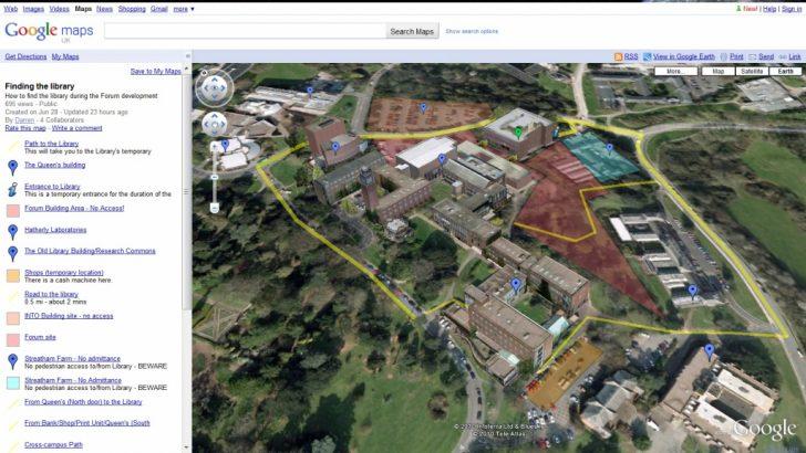 Google Earth Printable Maps
