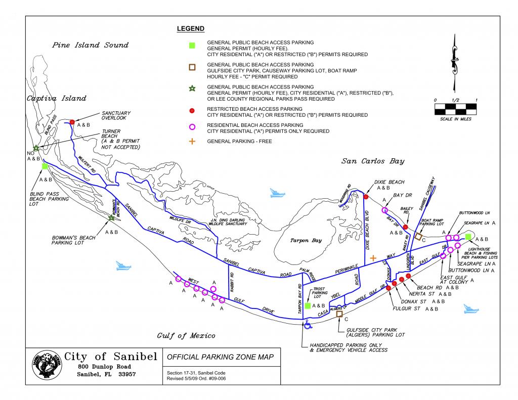 Map Parking On Sanibel   Travel In 2019   Sanibel Beach, Beach - Sanibel Beach Florida Map