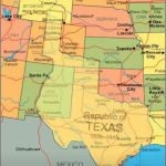 Map Showing Current Usa With The Republic Of Texas Superimposed   Republic Of Texas Map Overlay