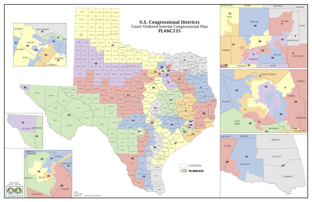 Map Texas Congressional Districts Texas Senate District Map Pictures - Texas Senate District Map