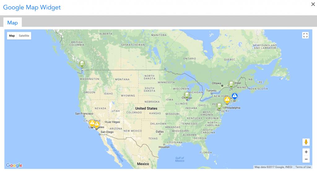 Map Widget | Logicmonitor Support - Google Maps Florida