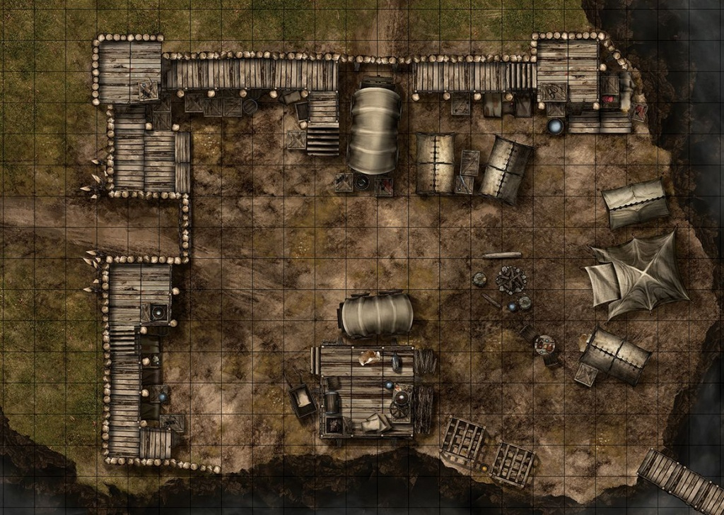 Maphammer Is Creating Battle Maps For D&d, Pathfinder And Other - D&d Printable Maps
