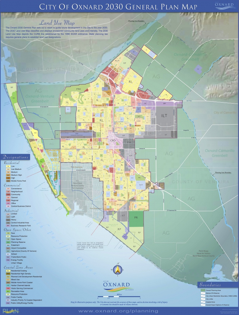 Maps — City Of Oxnard - Oxnard California Map