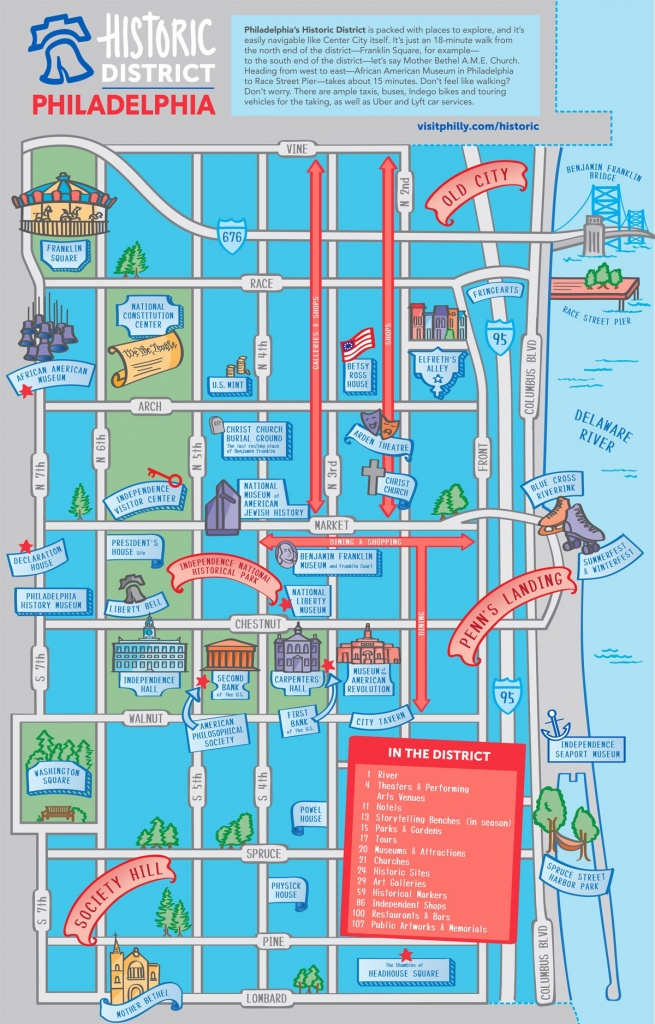 Printable Map Of Philadelphia | Printable Maps