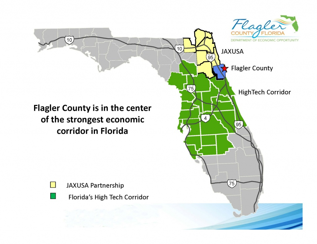 Maps - Flagler County - Bunnell Florida Map