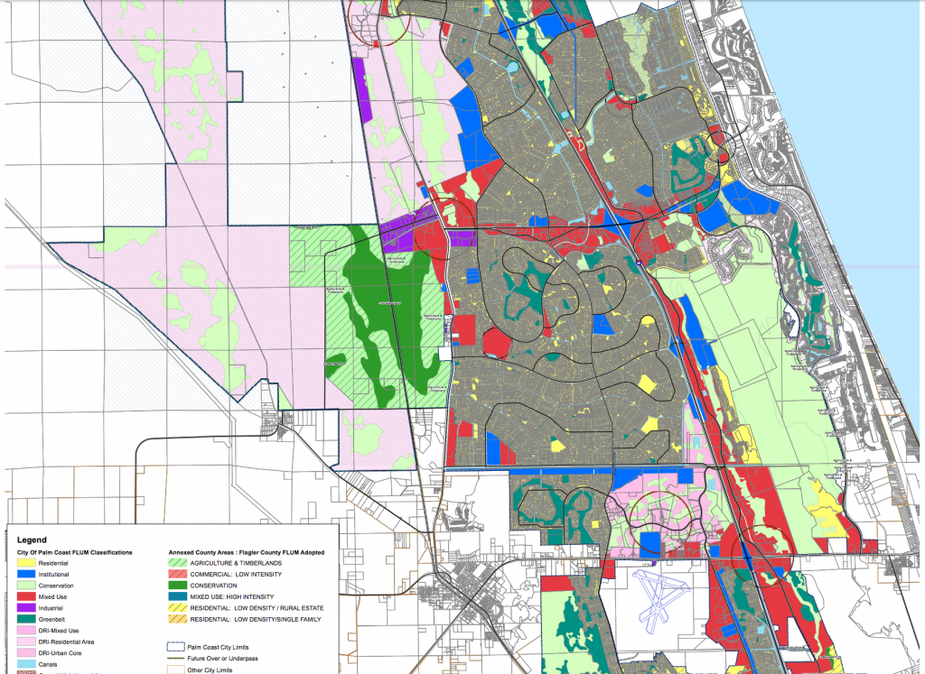 Maps - Flagler County - Map Of West Palm Beach Florida Showing City Limits
