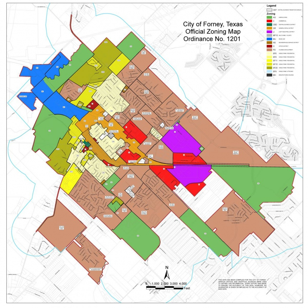 Maps | Forney Edc - Kaufman Texas Map