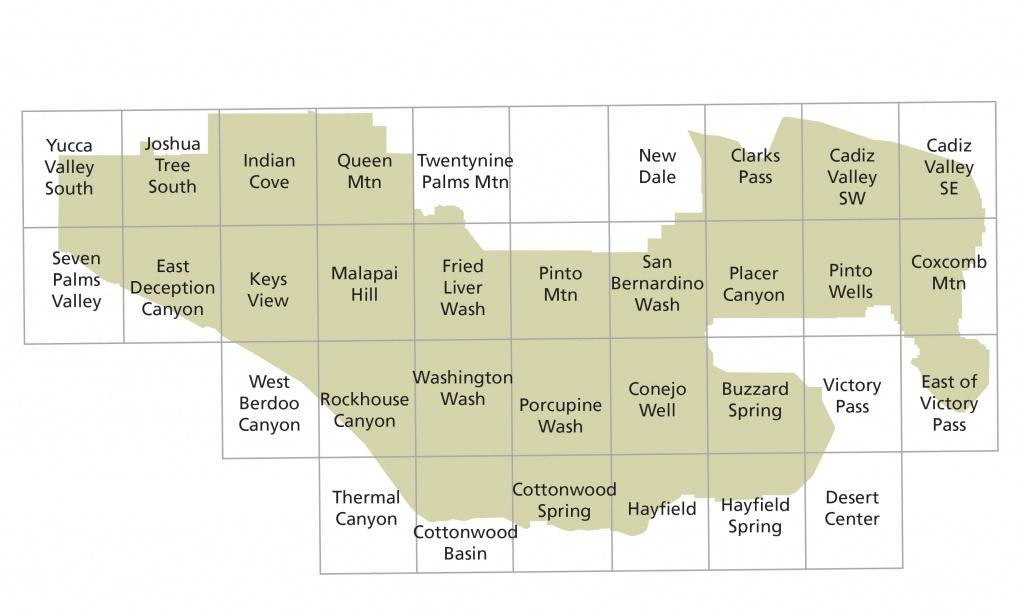 Maps - Joshua Tree National Park (U.s. National Park Service) - Mid Florida Amphitheater Parking Map