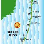 Maps, Key West / Florida Keys | Key West / Florida Keys Money Saving   Upper Florida Keys Map