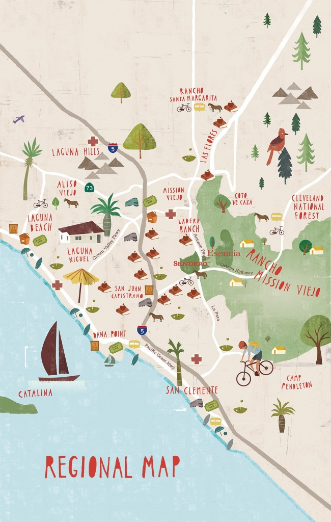 Maps - Mission Viejo/lake Foresr, Ca. So. Ca's 'kookville - Mission Viejo California Map