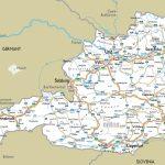Maps Of Austria | Detailed Map Of Austria In English | Tourist Map   Printable Map Of Austria