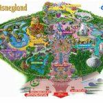 Maps Of Disneyland Resort In Anaheim, California   Disneyland Map 2018 California