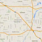 Maps Of Disneyland Resort In Anaheim, California   Map Of Anaheim California And Surrounding Areas