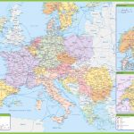Maps Of Europe | Map Of Europe In English | Political   Printable Map Of Europe With Cities