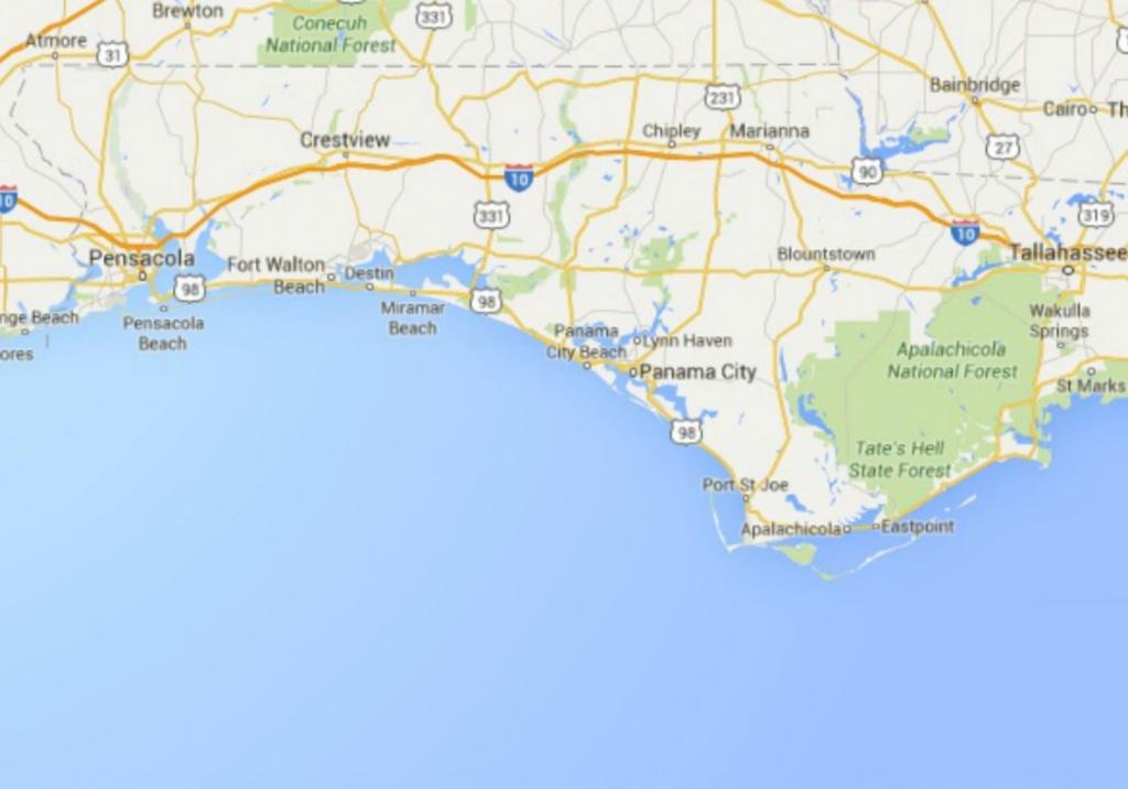 Maps Of Florida: Orlando, Tampa, Miami, Keys, And More - Florida Panhandle Map