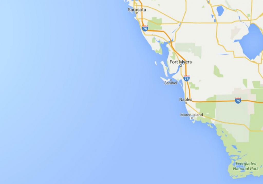 Maps Of Florida: Orlando, Tampa, Miami, Keys, And More - Map Of Florida Naples Tampa