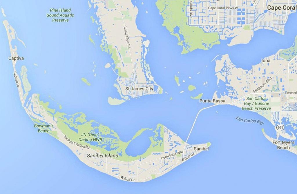 Maps Of Florida: Orlando, Tampa, Miami, Keys, And More - Sanibel Beach Florida Map