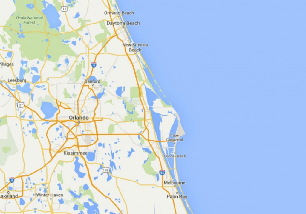 Maps Of Florida: Orlando, Tampa, Miami, Keys, And More - Vero Beach Fl Map Of Florida