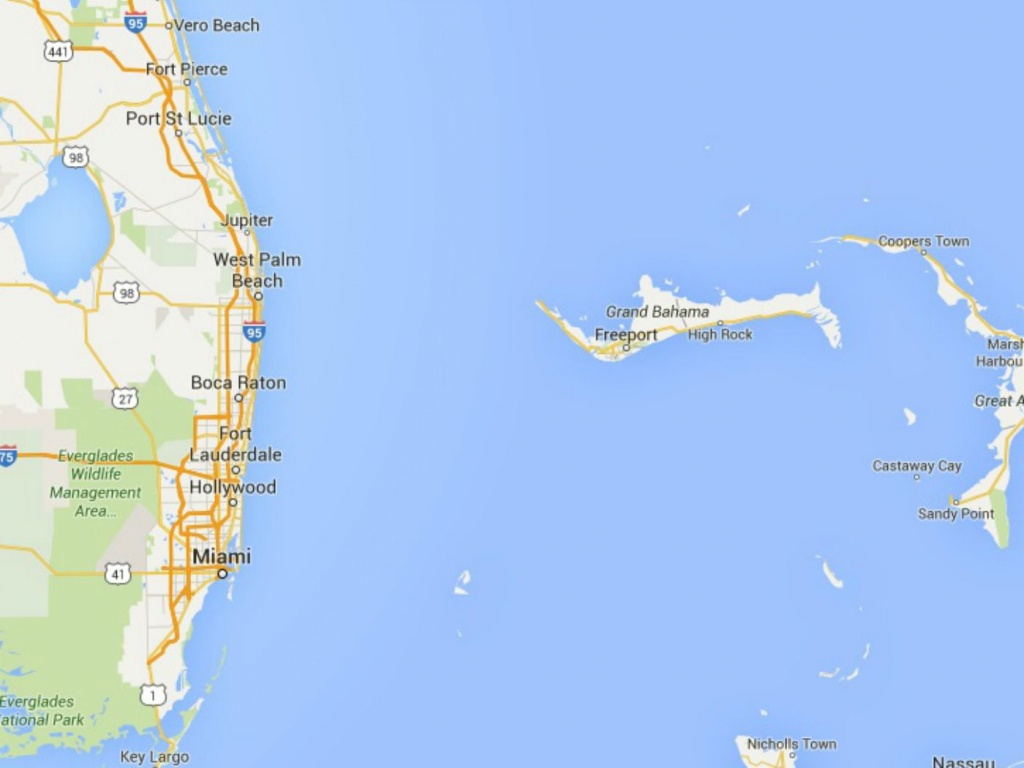 Maps Of Florida: Orlando, Tampa, Miami, Keys, And More - Where Is Vero Beach Florida On The Map