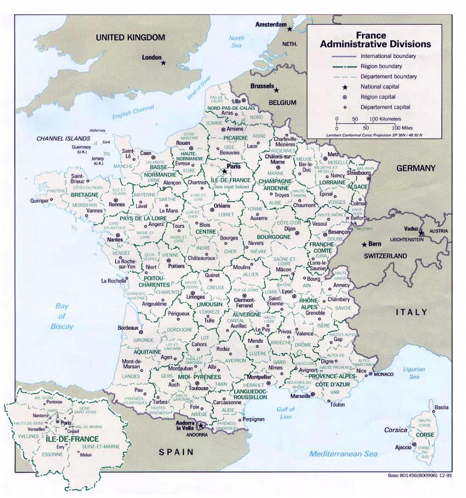 Maps Of France | Detailed Map Of France In English | Tourist Map Of - Printable Map Of France Regions