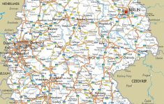 Maps Of Germany | Detailed Map Of Germany In English | Tourist Map   Printable Map Of Germany With Cities And Towns
