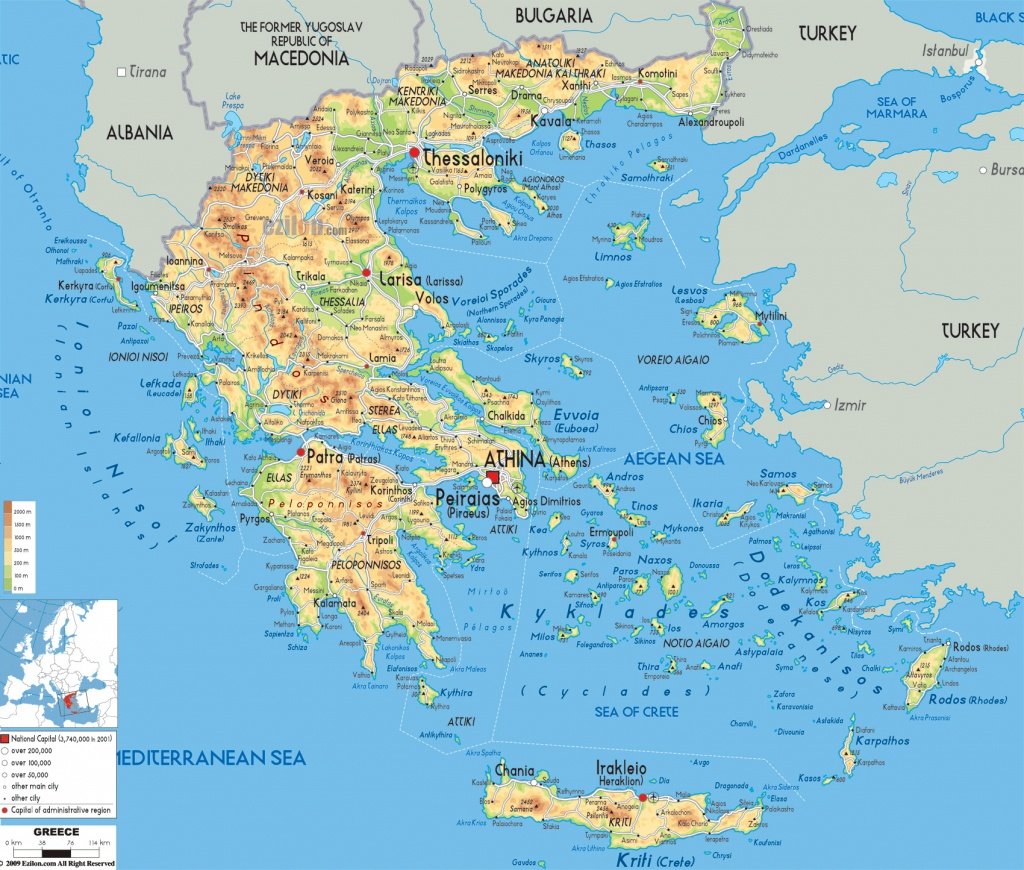 Maps Of Greece | Greece Detailed Map In English | Tourist Map (Map - Printable Map Of Greece