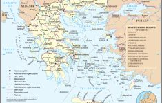 Maps Of Greece   Greece Detailed Map In English   Tourist Map (Map   Printable Map Of Greece
