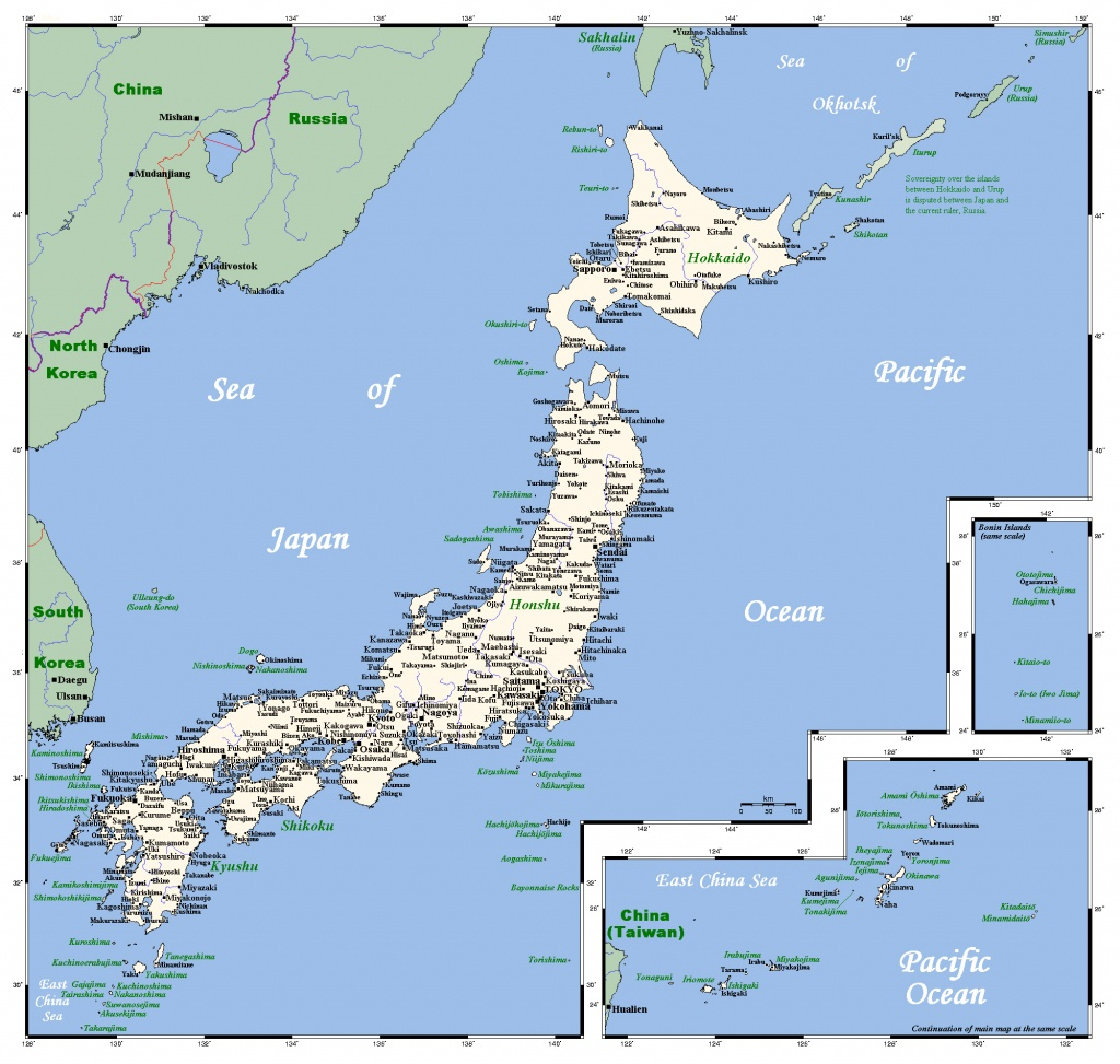 Maps Of Japan | Detailed Map Of Japan In English | Tourist Map Of - Printable Map Of Japan With Cities