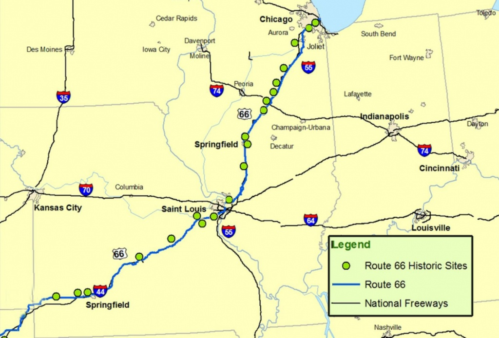 Maps Of Route 66: Plan Your Road Trip - Route 66 Map California