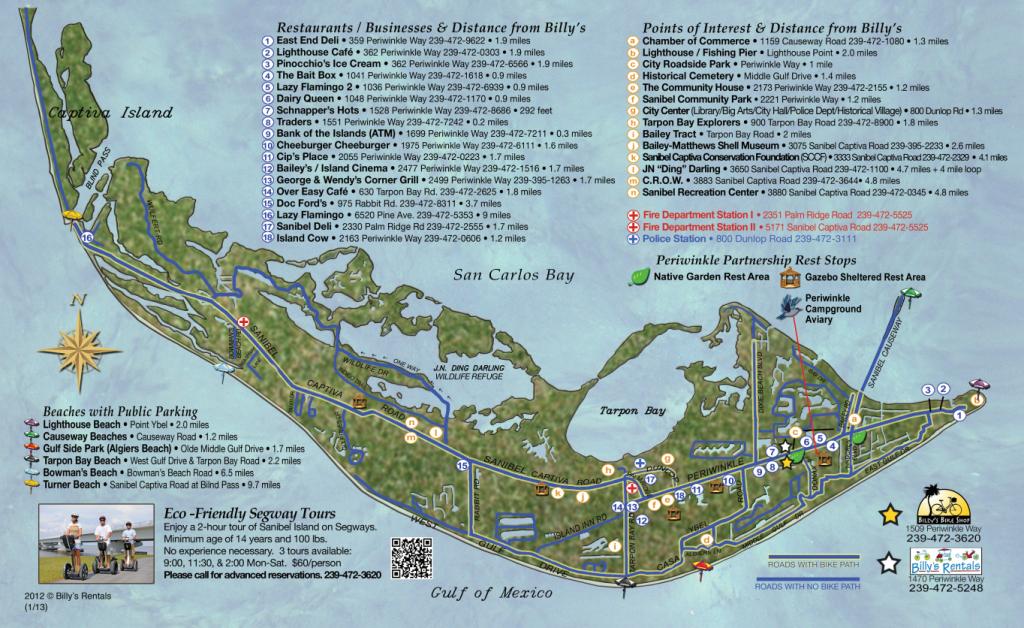 Maps Of Sanibel Island | Sanibel Map | Favorite Places & Spaces - Street Map Of Sanibel Island Florida