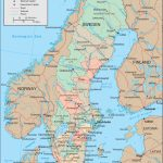Maps Of Sweden | Detailed Map Of Sweden In English | Tourist Map Of   Printable Map Of Sweden