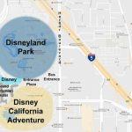 Maps Of The Disneyland Resort   Map Of Anaheim California And Surrounding Areas