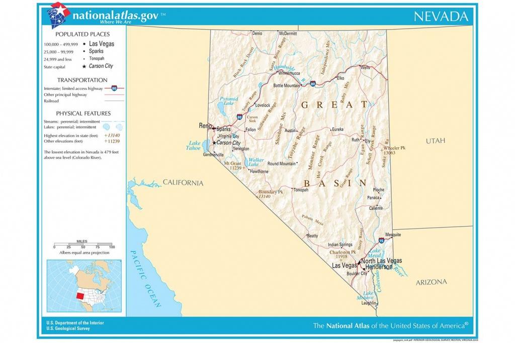 Maps Of The Southwestern Us For Trip Planning - California Nevada Arizona Map