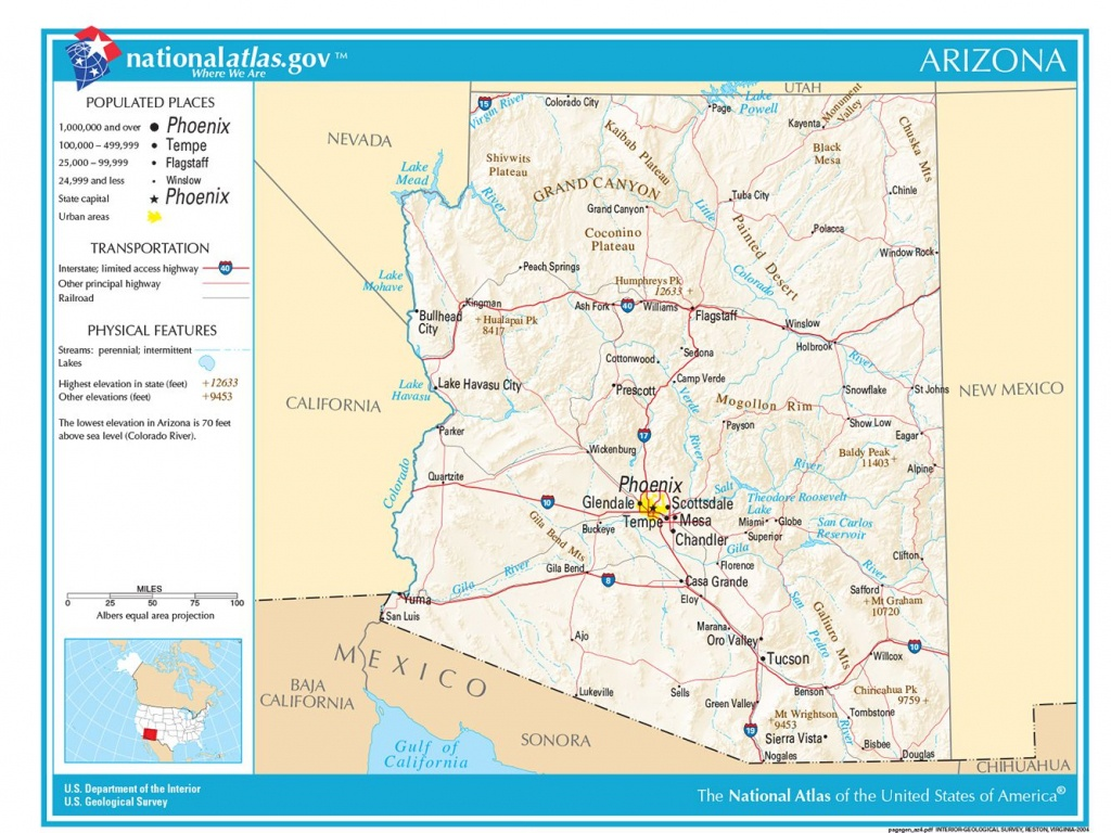 Maps Of The Southwestern Us For Trip Planning - Southern California Fishing Map