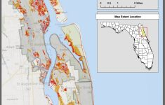 Maps | Planning For Sea Level Rise In The Matanzas Basin   Where Is St Augustine Florida On The Map