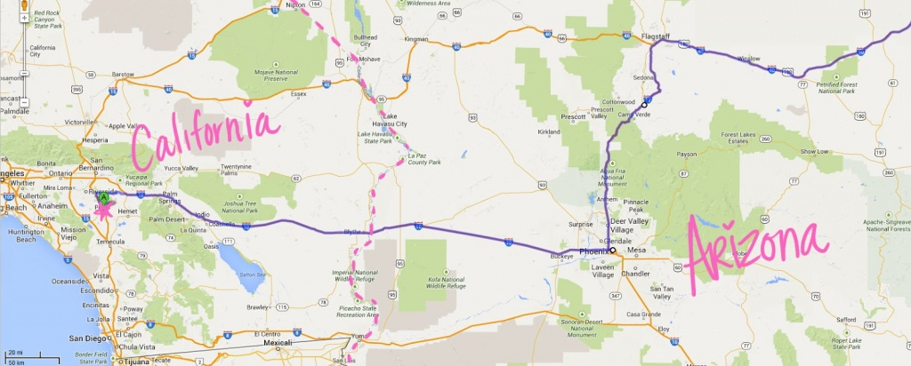 Maps. Road Map Of Texas And New Mexico - Diamant-Ltd - Road Map From California To Texas