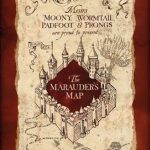 Marauders Map Printable Harry Potter Marauder S Posters At   Marauder's Map Replica Printable