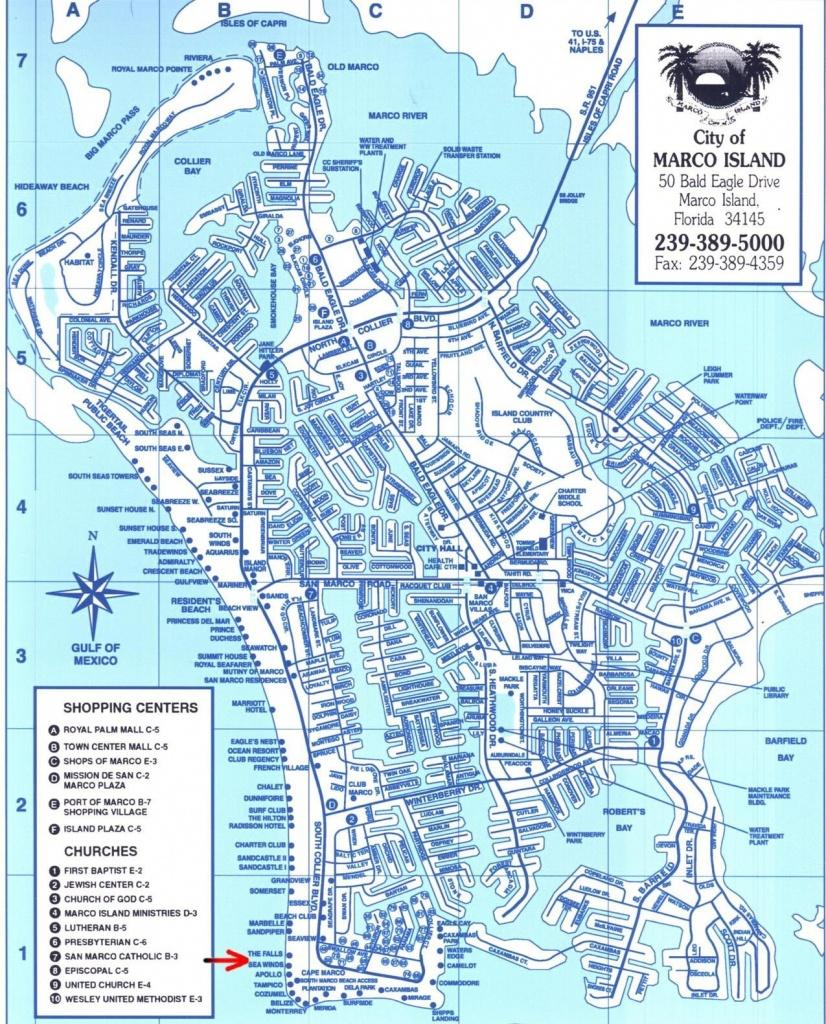 Marco Island Florida Map | Ageorgio - San Marcos Island Florida Map
