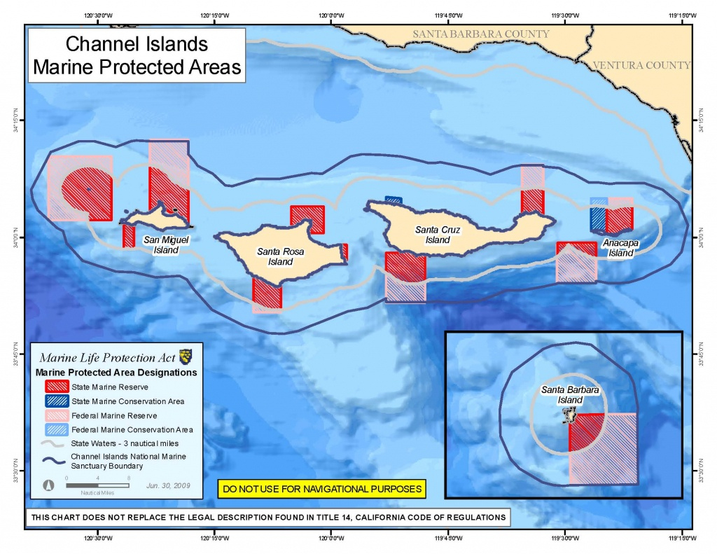 Marine Protected Areas - Channel Islands National Park (U.s. - California Marine Protected Areas Map