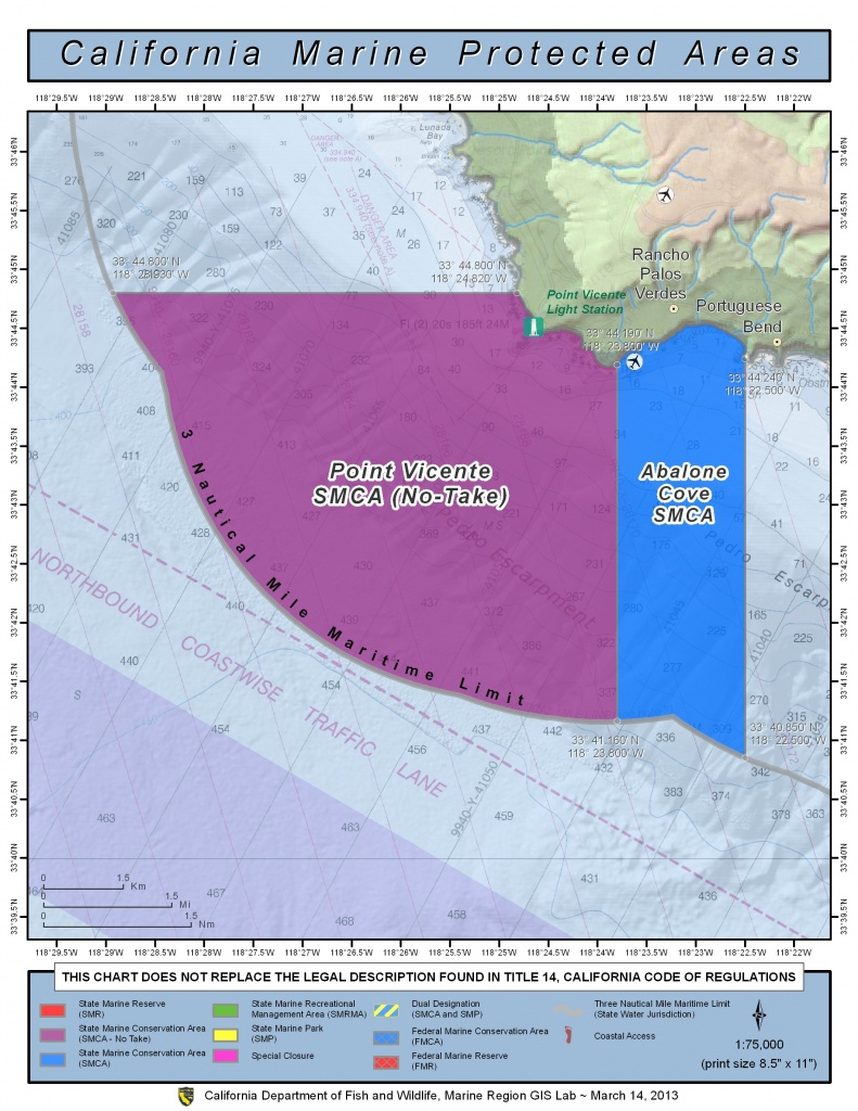 Marine Protected Areas | Los Angeles County Fire Department - California Marine Protected Areas Map