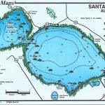Mark Evans Maps   Florida Fishing Lakes Map