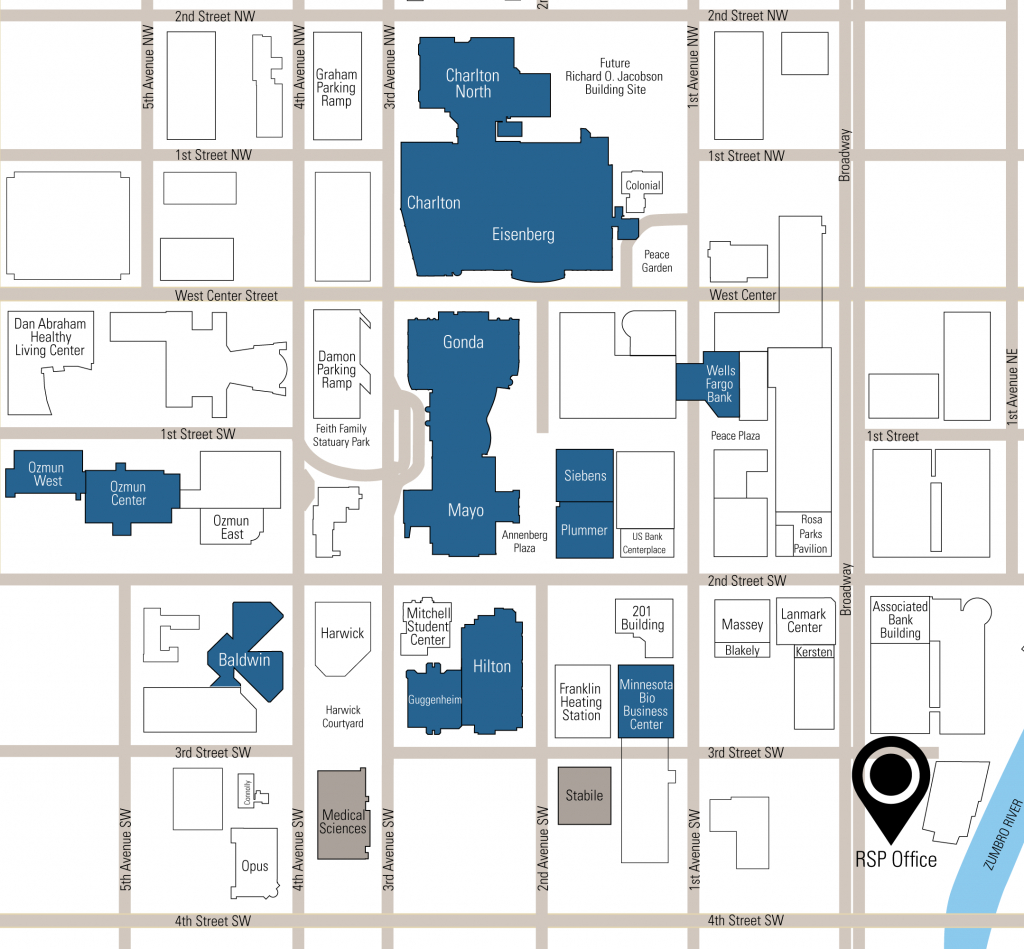 Mayo Campus Map – Bestinthesw - Mayo Clinic Jacksonville Florida Map