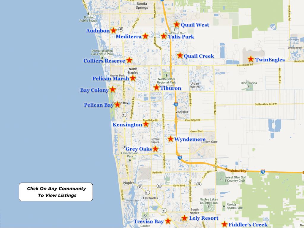 Mediterra Real Estate For Sale - Map Of North Naples Florida