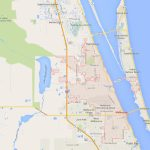 Melbourne Florida Map   Satellite Beach Florida Map