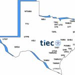 Member Universities — Texas International Education Consortium   Alpine Texas Map