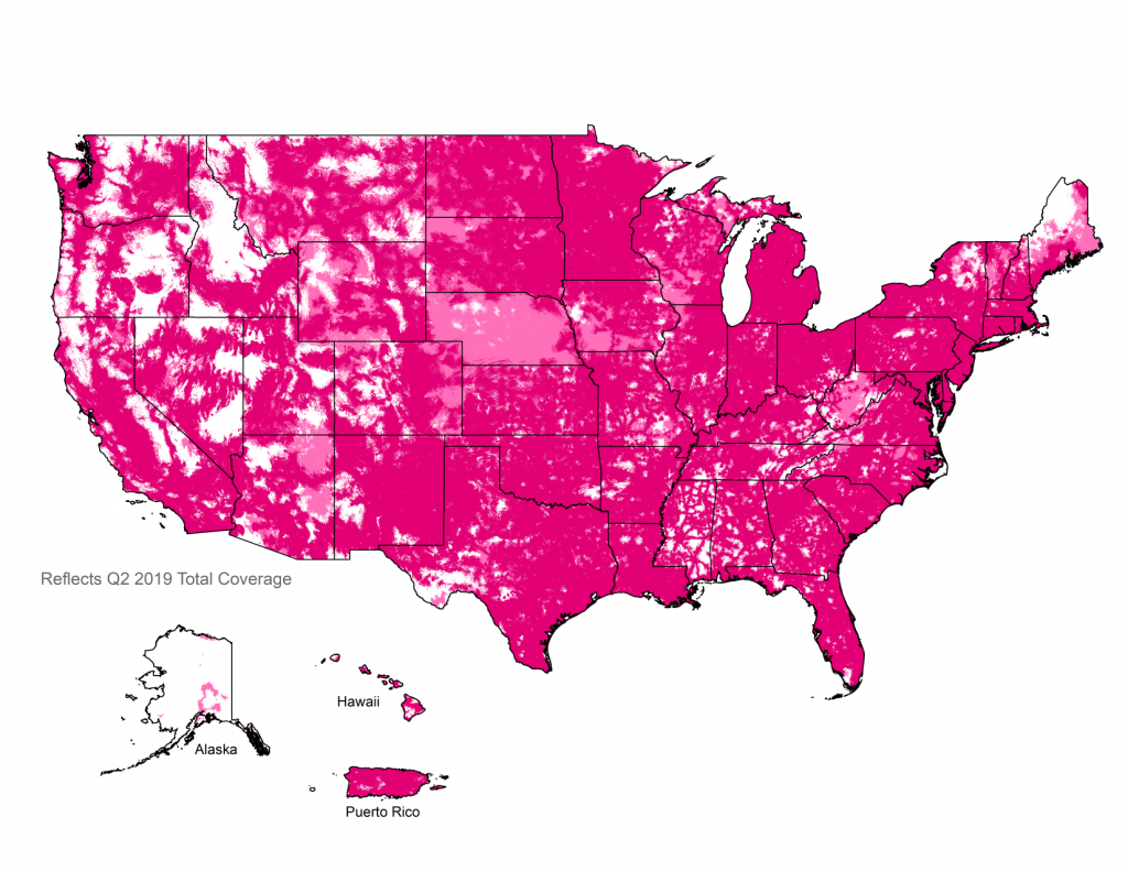 Metroâ®T-Mobile Coverage Map | Nationwide 4G Lte Coverage - Metropcs Coverage Map Florida