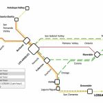 Metrolink Plans For Increased Service And Partial Electrification   Southern California Metrolink Map