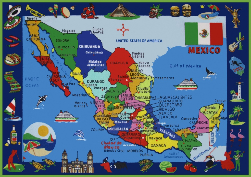 Mexico Maps | Maps Of United Mexican States - Free Printable Map Of Mexico